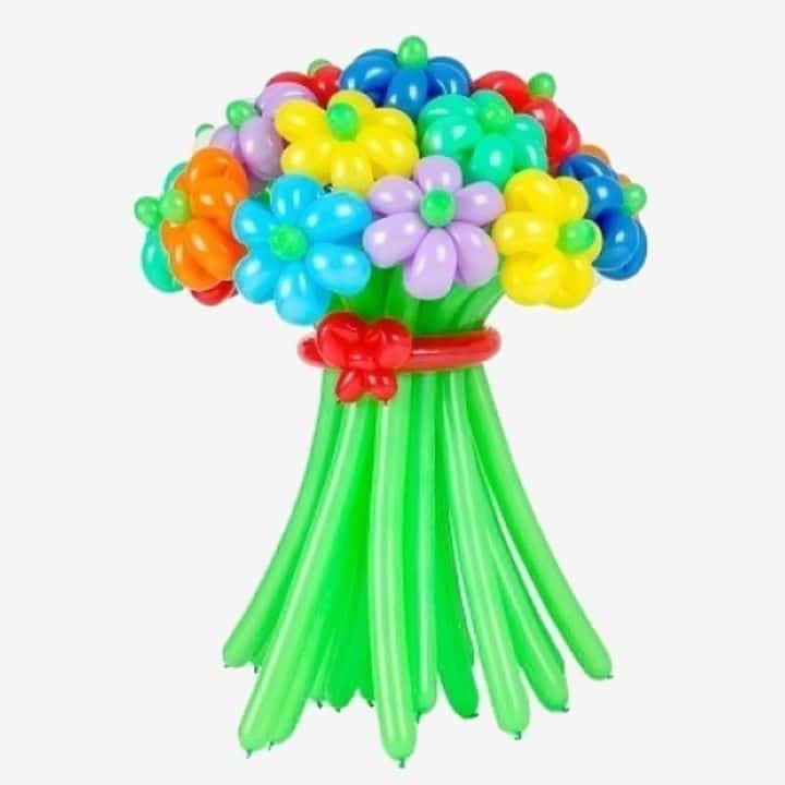 Много лет, букет из воздушных шариков
